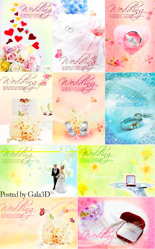 Wedding - PSD Templates