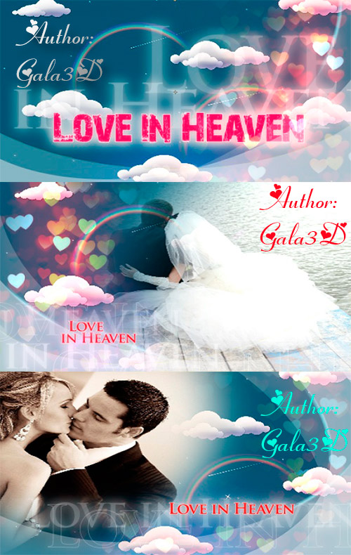 After Effects Slideshow - Love in Heaven from Gala3D NeW