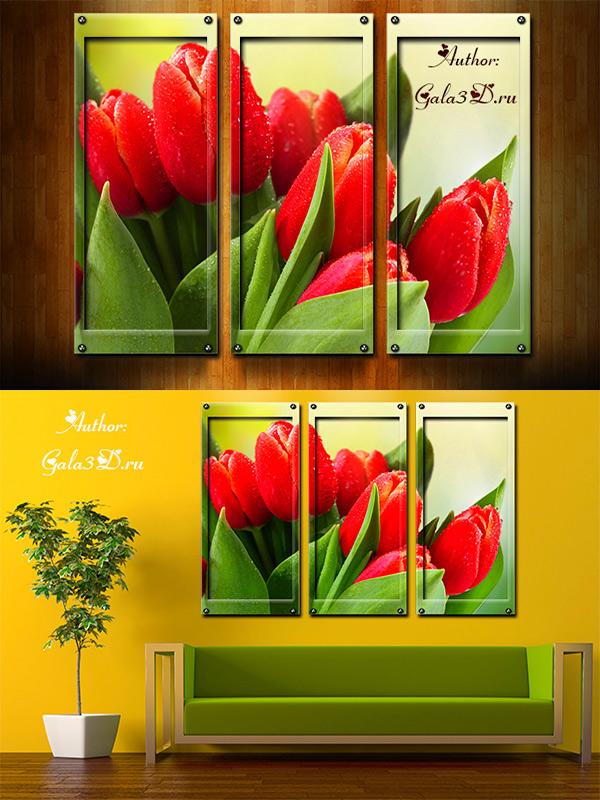 полиптих картины: