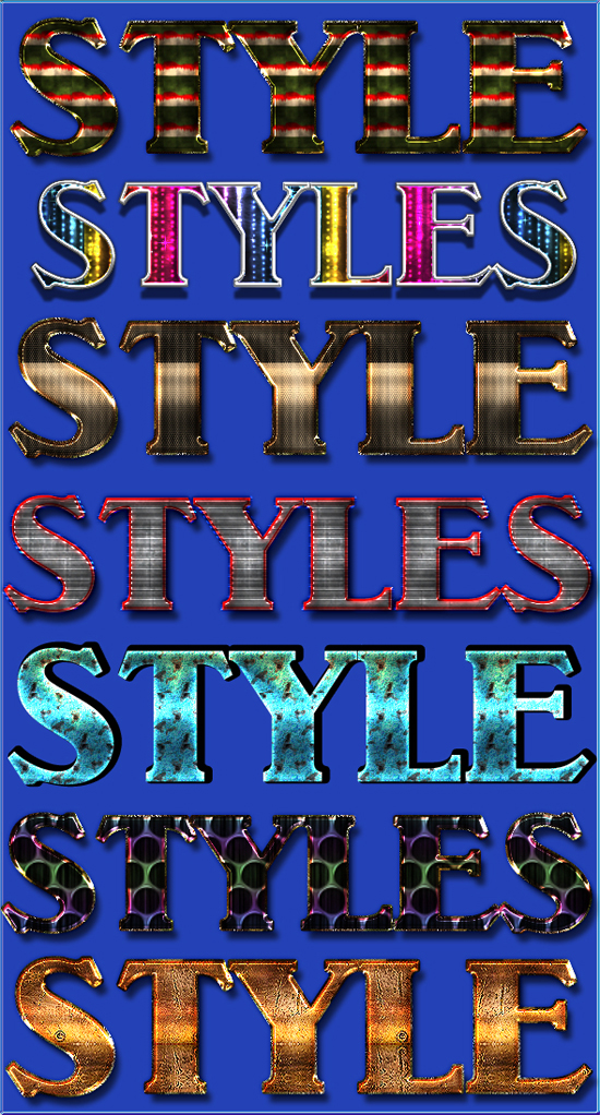 Styles from Gala3D 22