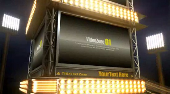 Project for After Effects - Marquee Turn